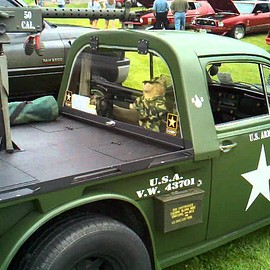 Volks Wagen - VW Beetle Army Truck Conversion