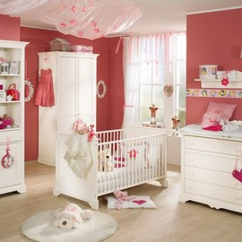 Paidi - white and wood baby nursery furniture sets by Paidi 5