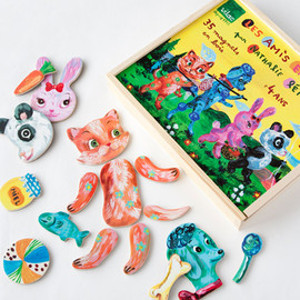 nathalie lete × vilac - animal magnets