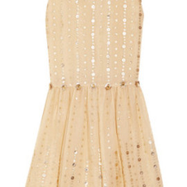 REDValentino - Embellished silk-organza dress by RED Valentino