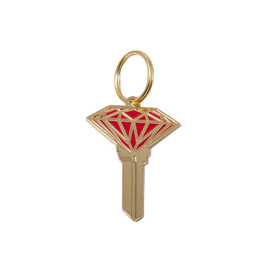 DIAMOND SUPPLY CO. - Brilliant Metal Key (Red/Gold)