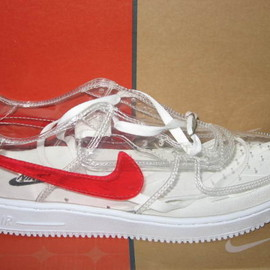 NIKE - Nike Air Force 1 clear shoes