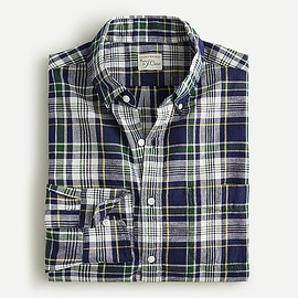J.CREW - Slim Indian madras shirt in plaid