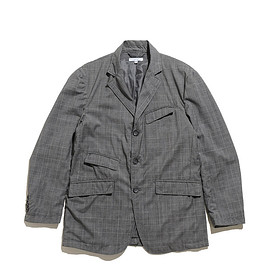 ENGINEERED GARMENTS - Andover Jacket-Tropical Wool Glen Plaid-Grey