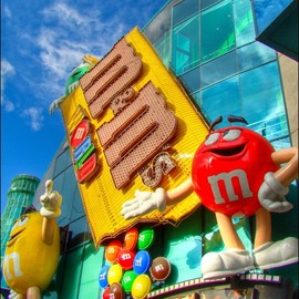 Las Vegas - M & M's World