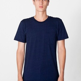 American Apparel - Indigo Pocket T-Shirt