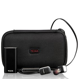 TUMI - Wireless Earbuds - Black/Gunmetal