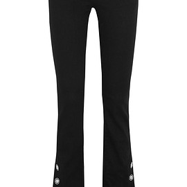 Versus Versace - Mid-rise flared jeans