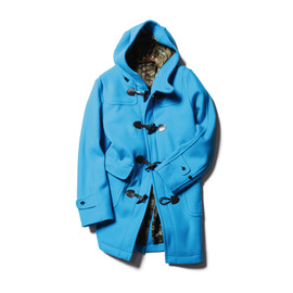SOPHNET. - DUFFLE COAT/BLUE
