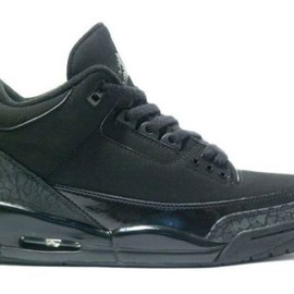 "NIKE - Air Jordan III ""Black Cat"""