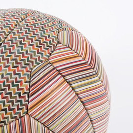 Paul Smith - limited edition printed leather paul smith football