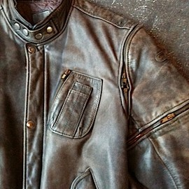 VINTAGE - Germany/ vintage hein gerick leather blouson