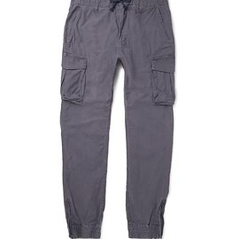Beams - Beams Japan Silm-Fit Cotton Cargo Trousers