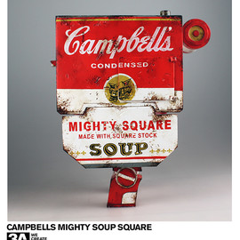 3A Toys - WWR Campbell's Mighty Soup Square