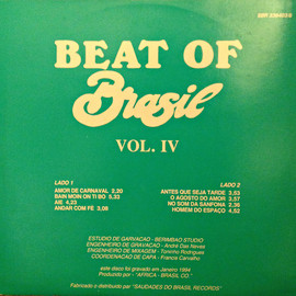 Various Artists - BEAT OF BRASIL Vol.IV