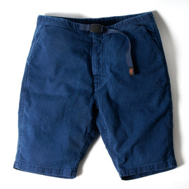 CLIMBER EASY PANTS - C/P TWILL STRETCH by GRAMICCI OVERDYED with RYUKYU INDIGO