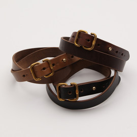 hobo - hobo HORWEEN Oiled Leather S Buckle Belt