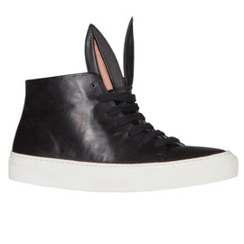 Minna Parikka - Bunny Sneakers Black Nappa Leather