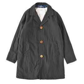 visvim - MIES COAT (COTTON/WOOL) BLACK