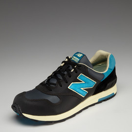 New Balance - 1400 Running Sneakers (black, blue)