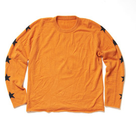 lucien pellat-finet - Star Sleeve Cashmere Sweater