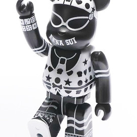 BE@RBRICK - ANNA SUI 2012 100% ベアブリック(BE@RBRICK)