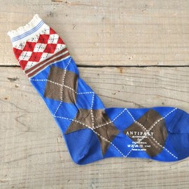 ANTIPAST - Cross Diamond Socks
