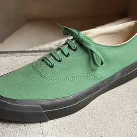 WAKOUWA - KELLY GREEN with BLACK SOLE