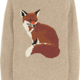 Aubin & Wills - Portland fox-intarsia wool sweater