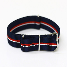 Smart Turnout - Nylon Militaly Watchstrap - Royal Navy 01