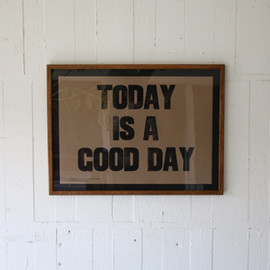 TRUCK - TODAY IS A GOOD DAY ポスター