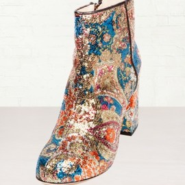 Carven - Sequin Ankle Boots