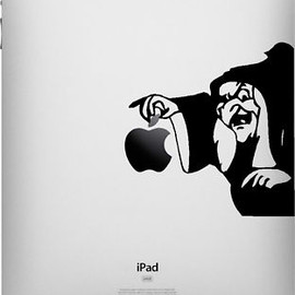 no name - Disney Wicked Witch Apple IPAD Vinyl Decal Sticker