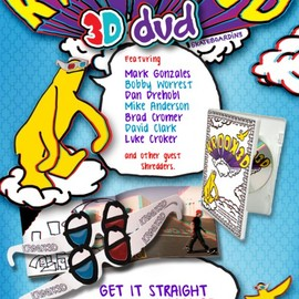 KROOKED - 3D DVD featuring Mark Gonzales etc