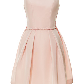 KATIE ERMILIO - Watteau Pleat Mini Dress