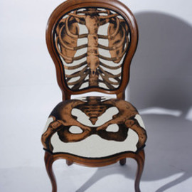 Anatomically Correct Chair White