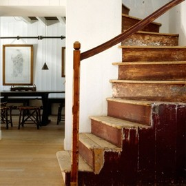 Rustic Staircase.