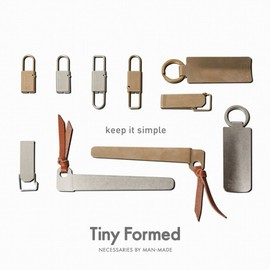 Tiny Formed「Tiny metal key fold」Brassのサブ画像1