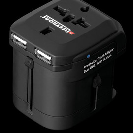 Lifetrons - Travel Adapter w/2 USB Charging Ports