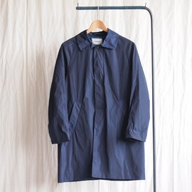 YAECA - Soutien Collar Coat #navy