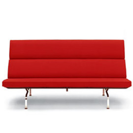 Herman Miller  - Eames Sofa Compact (Red)