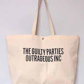 PRINT TOTE BAG WIDE (GUILTYPARTIES)