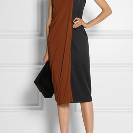 Jason Wu - Draped satin and jersey dress