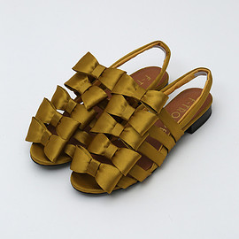 F-troupe - ribbon sandals
