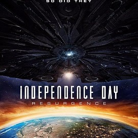 INDEPENDENCE DAY RESURGENCE - POSTER