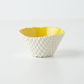 Anthropologie - Ceramic Ice Cream Bowl