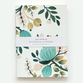 Rifle Paper co. - Botanical Journal - BLUE
