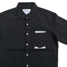 PEEL&LIFT - hidden marx shirt / black