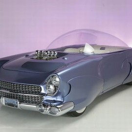 Ford - 1955 ford beatnik bubbletop custom concept