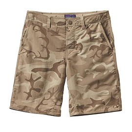 "Patagonia - Men's Wavefarer Walk Shorts - 20"" (Forest Camo: El Cap Khaki)"